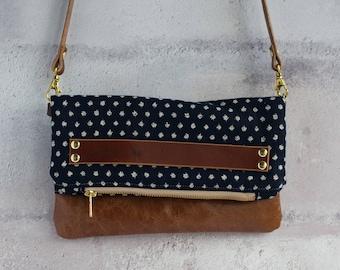 spotty purse, clutch bag, clutch purse, leather clutch, leather clutch bag