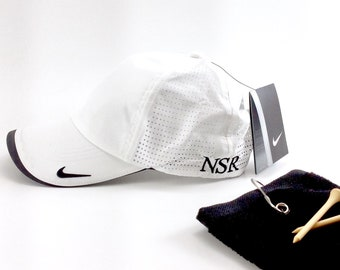 Nike Golf Dri-FIT Swoosh Perforated Cap, Monogrammed Nike Hat, Monogrammed Golf  Hat