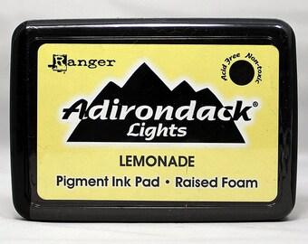 Adirondack Ink Lemonade - Yellow Ink - Adirondack Ink - Lemonade Pigment Ink - Yellow Adirondack Ink - Adirondack Pigment Ink - 17-037