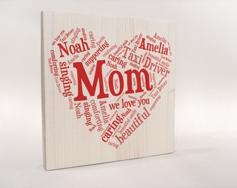 Personalized Gift for MOM, Mother's Day Gift, Birthday Gift for MOM, Gift Mother