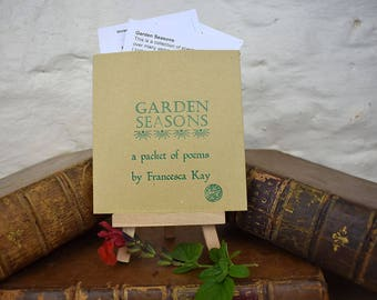 Poems. Garden poems, Poetry. Poetry gift.