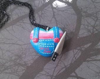 Childsplay - Good guys Chucky inspired necklace