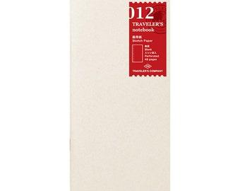 TN Refill - Regular Size - 012 Sketch Paper