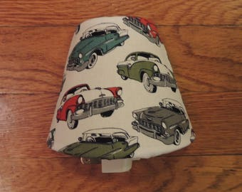 Vintage / Classic Car Night Light W/ Shade And On & Off Switch - 5 Watts Bulb - w/ Blue, Green, Red Chevrolet Bel Air - Man Cave - Boy Room
