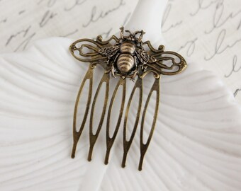 Bee Hair Comb