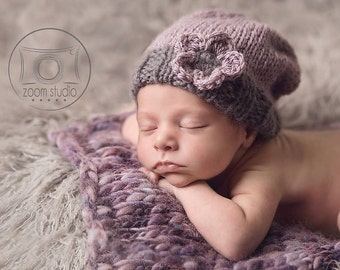 slouchy hat for baby.