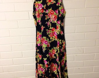 Floral long summet dress
