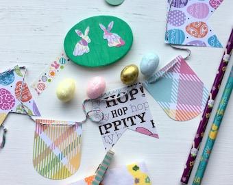 Easter Fabric Washi Tape