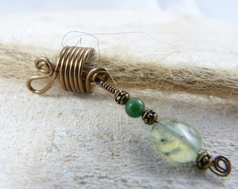"Dreadlock jewelry ""Magic"", Dreadperle, Pearl of the Rasta, dread jewelry"