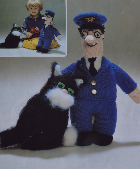 Pdf knitted postman pat and his cat pattern vintage knitting pdf knitted postman pat and his cat pattern vintage knitting pattern pdf download pattern only pdf 1970s dt1010fo