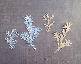 Die cut matrix Sizzix small branch tree Nature