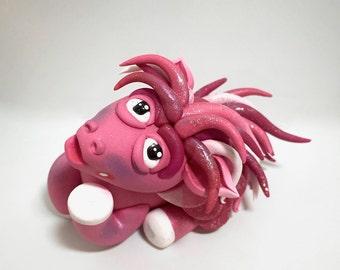 Polymer Clay PEGASUS Figurine