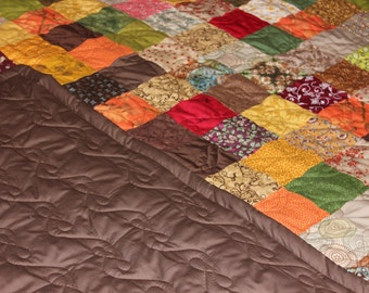 King Size Quilt - Supply Your Own Fabrics - Custom Made Quilt - Patchwork Quilt - Full Payment