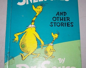 """Vintage Dr. Seuss Book, """"The Sneetches and Other Stories"""" - 1961"""