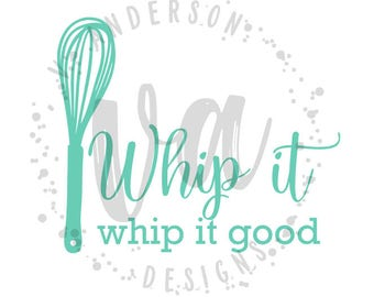 Whip It Mixer Decal