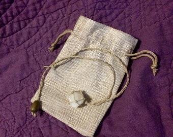 White Quartz Necklace