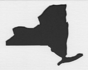 Pack of 3 New York State Stencils,Made from 4 Ply Mat Board 16x20, 11x14 and 8x10