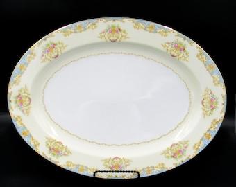 Noritake China, Noritake China Vintage, Vintage Noritake, Serving Platter, Platter, Ceramic Platter, Large Platter, Noritake Chevonia