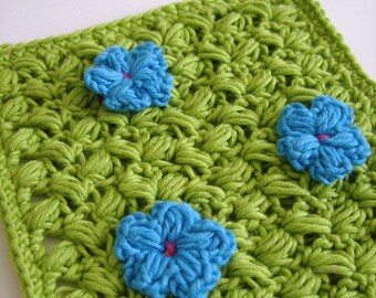 Simple crochet pattern for home - square pot holder crochet pattern instructions, beginner crochet pattern