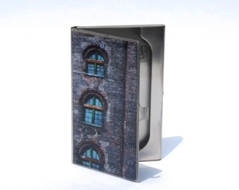CARD CASE - Domino Building - Domino Sugar Factory - Business Card Holder