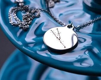 Biolojewerly - Taurus Constellation Stainless Steel Necklace