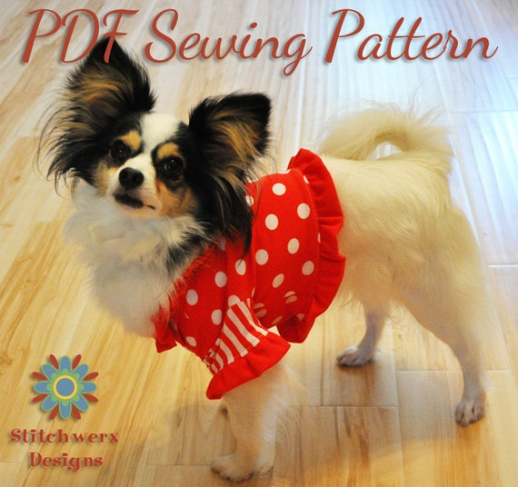 DOG CLOTHES SEWING Pattern Small Dog T Shirt Pattern Dog