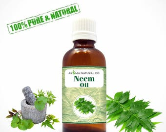 Neem Essential Oil Pure & Natural For Aromatherapy Oils-Therapeutic Grade Oils