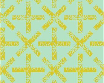 Field Day (Green) - Alison Glass - Andover Fabrics - 1 Yard