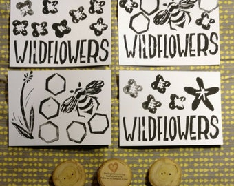 Wildflower Flat Notecards