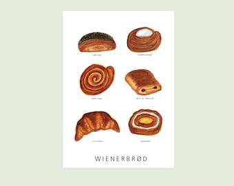 Wienerbrød - Pastries