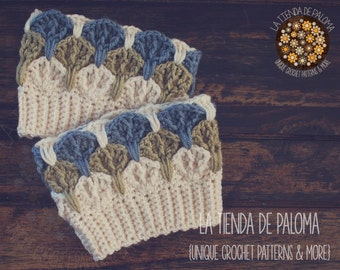 INSTANT DOWNLOAD - Crochet Olivia Boot Cuffs