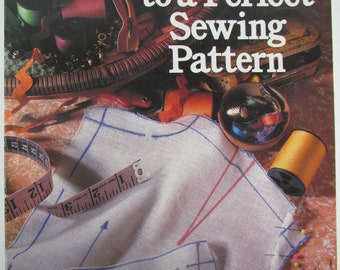 Shortcut to a Perfect Sewing Pattern Book, by Rusty Bensussen 1989