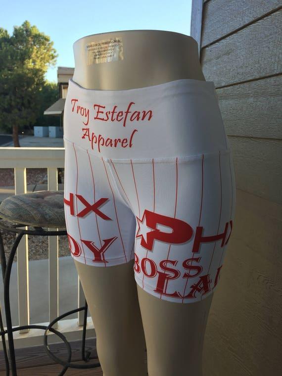 """Phoenix (AZ) """"Boss Lady"""" Yoga Shorts"""