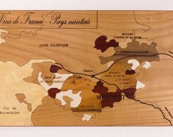 Marquetry, PAYS NANTAIS wines