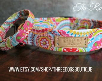 """Dog Collar with optional bff bracelet """"The Roxy"""" FREE SHIPPING  Please leave EXACT  tight wrist measurement**"""