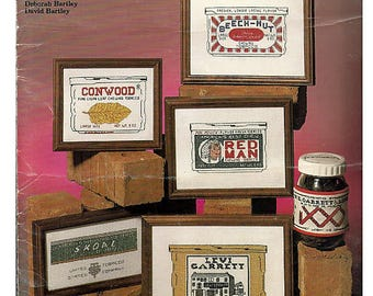 Chewing Tobacco Labels / Counted Cross Stitch Pattern  Leaflet No 13
