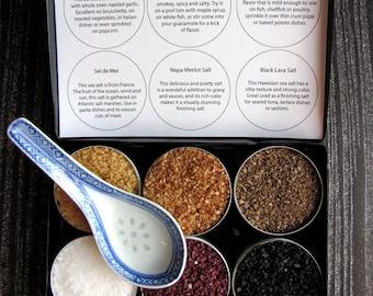 Herkunft Meersalz - Gourmet-Gewürze aus der ganzen Welt - große Feinschmecker Geschenk