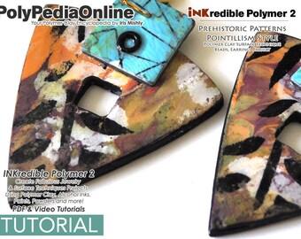 Polymer Clay Tutorial, Polymer Clay, Crafting Polymer Clay, Polymer Clay Pattern, Polymer Clay Jewelry, Polymer Clay Tutorial, Alcohol Ink
