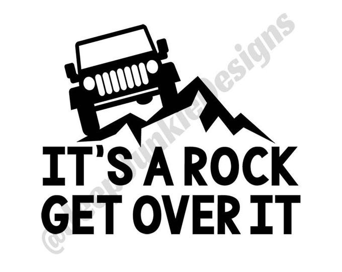 It's a Rock, Get Over It