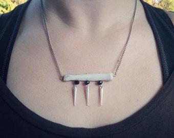 Bone & Bead Necklace