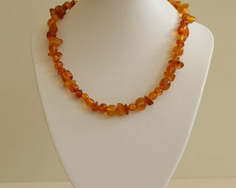 Genuine Baltic See Amber Necklace