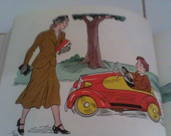 1938 Happy Times Reader with Awesome Graphics