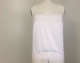 Vintage Soft Pink Camisole by Movie Star Inc