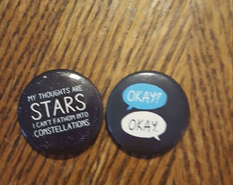 The fault in our stars magnets.