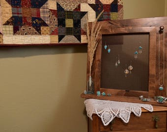 Jewelry Display // Earring Display // Jewelry Organizer // Jewelry Organizer Stand // Jewelry Hanger // Earring Hanger