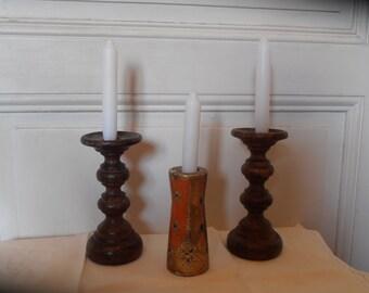 A Florentine candleholder