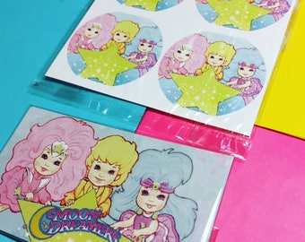 The Moondreamers Stickers & Magnet (Set)