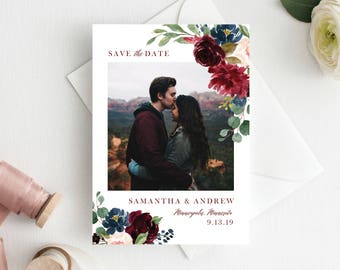 Save the Date Template Save the Date Cards Photo Save the Dates Wedding Save the Date Template Save Date Card Printable Save the Date 112