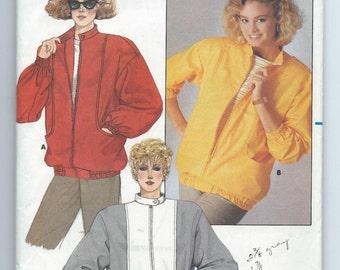 Butterick 3598 Misses' Jacket - Size 8-10-12 - Uncut Vintage Pattern