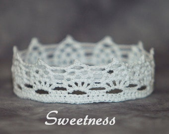 PATTERN - Crochet Crown - Sweetness